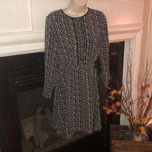 Loft Heart Print Dress